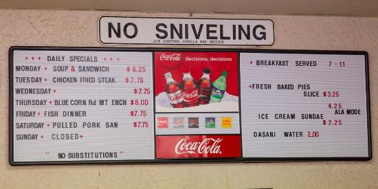 Bar-B-Que on Broadway: No, sniveling allowed