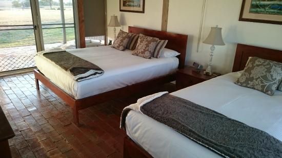 Owl Head Lodge: The room interior