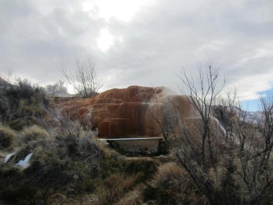 Monroe, UT: Amaneciendo en Mystic Hot Springs