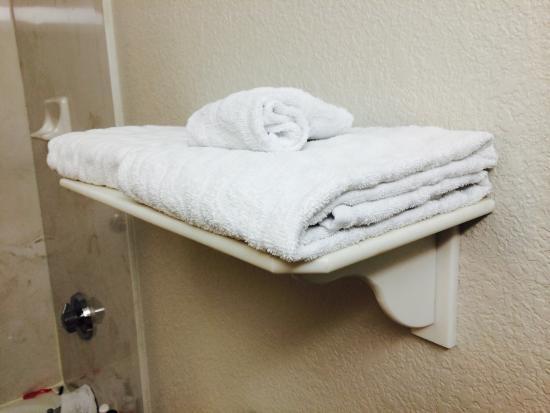 La Quinta Inn & Suites San Antonio Riverwalk: Thin towels