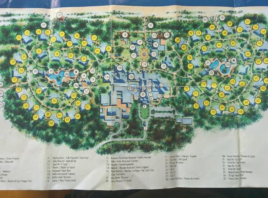 Resorts Map Picture Of Melia Las Dunas Cayo Santa Maria