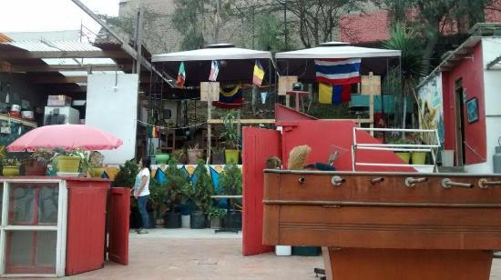 Kaminu Packpackers Hostels: Terraza del Hostel