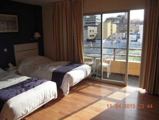 El Faro: Room at back