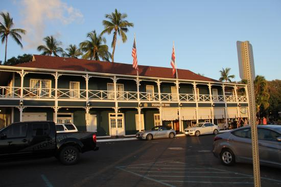 Best Western Pioneer Inn As Seen From Lahaina Harbor