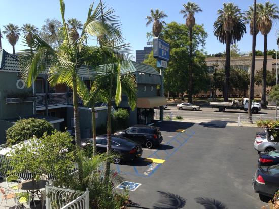 Parte De La Habitaci N Picture Of Rodeway Inn Hollywood