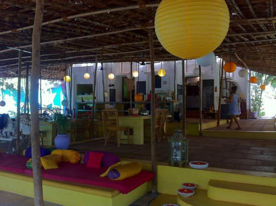 Purple Valley Yoga Retreat : Restaurante e local de relax