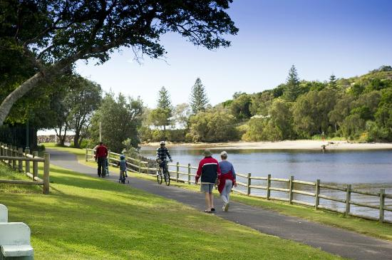 North Coast Holiday Parks Evans Head: Sites have views of the beautiful Evans River