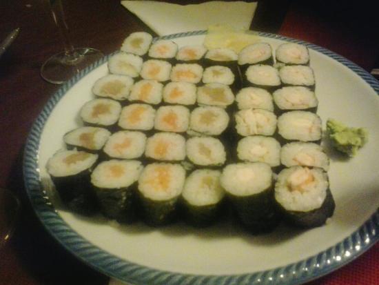 Sushi Picture Of Ristorante Giardino Wok Rome Tripadvisor