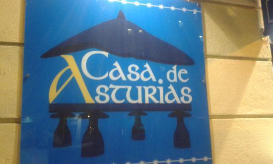 Letrero fotograf a de casa de asturias madrid tripadvisor - Casa de asturias madrid ...