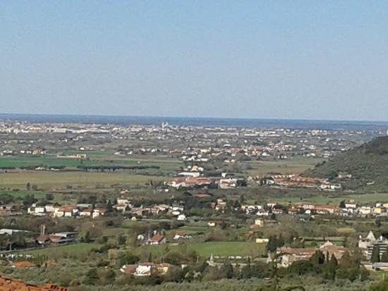 B&B Antica Toscana: Panorama dalla camera