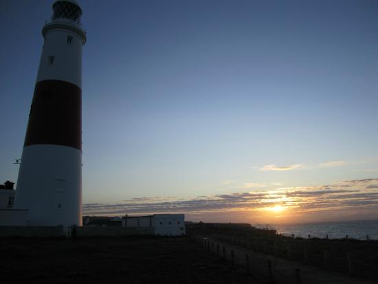Weymouth, UK: Dawn at Portland Bill lighthouse