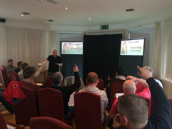 Clonamore House Hotel: our training room