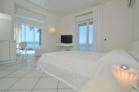 Villa Grachira: Junior Suite con splendida vista mare