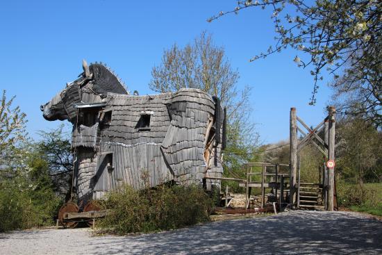 Kết quả hình ảnh cho La Balade des Gnomes, Durbuy, Belgium
