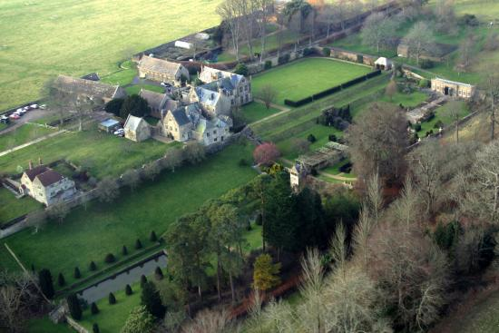 Mapperton Gardens: From above