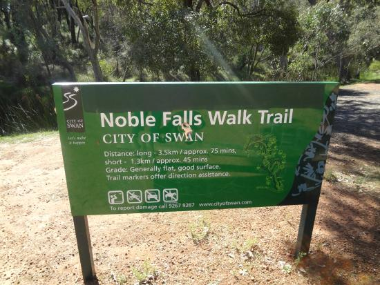 Gidgegannup, Austrália: Noble Falls