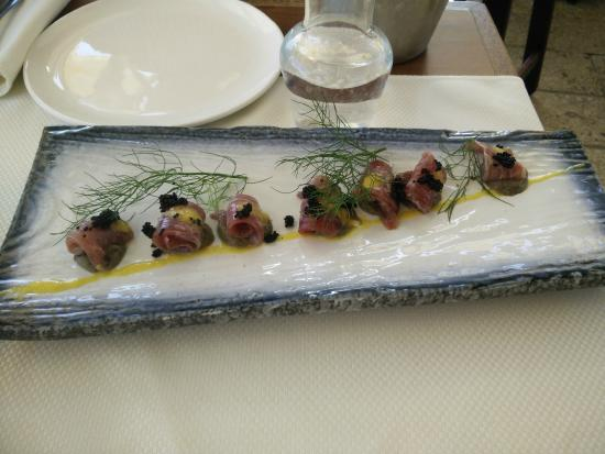 El Marsa Restaurant: Anchovy with tobico