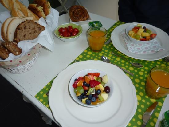 Bed & Breakfast Diemerbrug: Un aperçu du petit déjeuner
