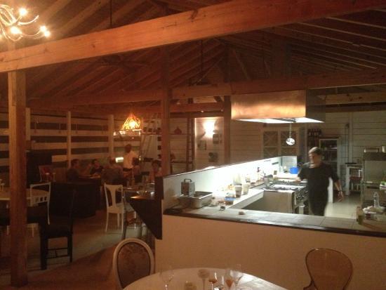 Sala ristorante con cucina a vista (e con Nicola) - Foto di ...
