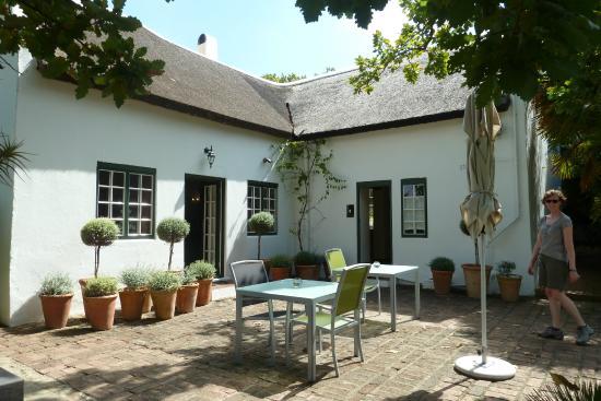 Rothman Manor : Frühstücksterasse