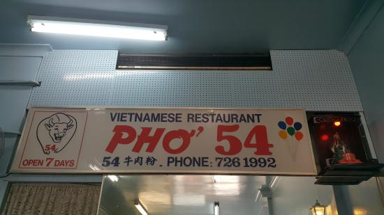 Pho 54: Sign