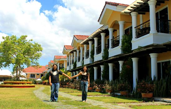 Baclayon, Philippines: Strolling in the beautiful piece of property. ^^,