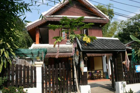 Phongphilack guesthouse in Luangprabang, Laos