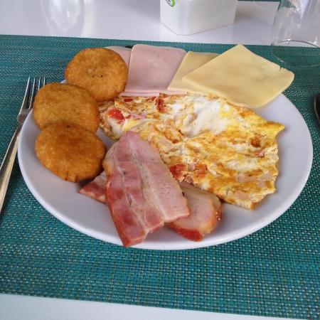 Laguna Mar: desayuno