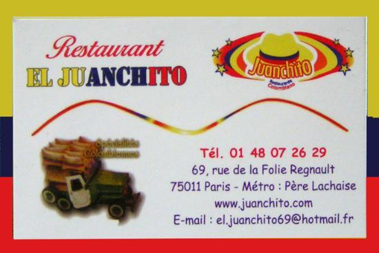 Juanchito: pensez à réserver par téléphone