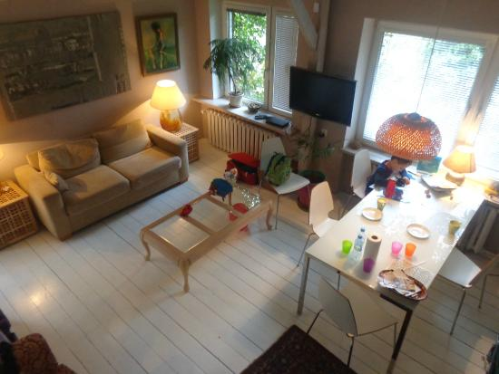 Apartamenty Galeria : Living room