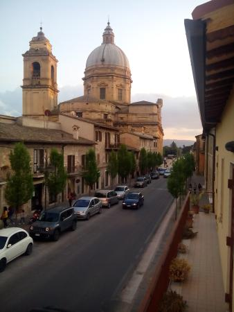 Camere La Basilica: Vista dalla nostra camera
