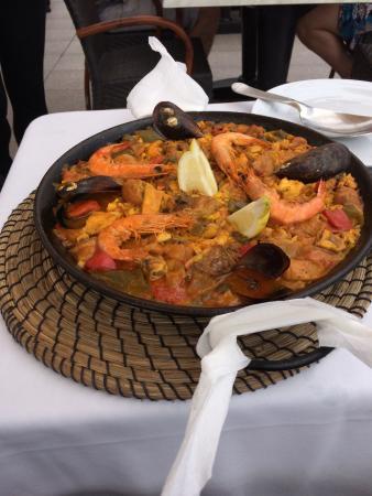 El Capitan Restaurante: Paëlla pour 2 personnes