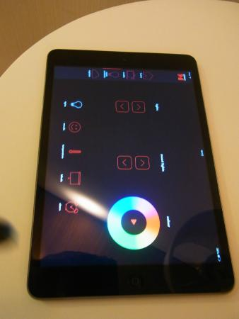 control lighting with ipad. CitizenM Schiphol Airport: Ipad To Control Room Lighting, Tv, Music Etc Lighting With A