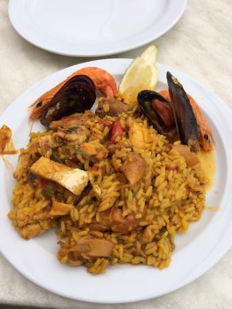 El Capitan Restaurante: Assiette de paëlla
