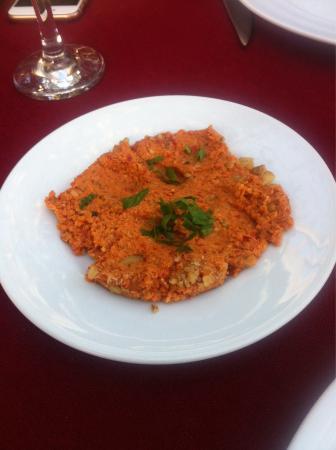 Kosk Restaurant: Ceviz Ezme (Muhammara) 1/2 potion
