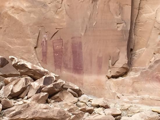 Black Dragon Canyon Trail: Anthromorphs at Black Dragon Wash