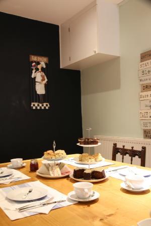 Cambridge House: Afternoon tea