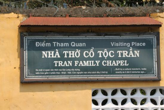 The Tran Family Home and Chapel