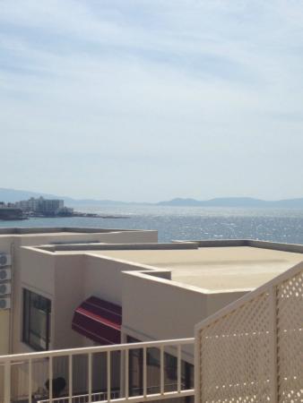 ليديز بيتش ريزيدنس: View from our room
