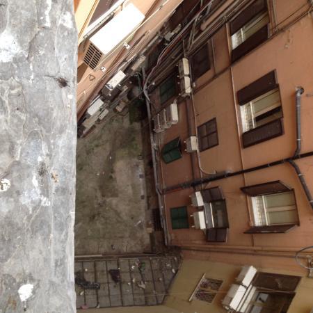 Hostel Stargate: La vue de notre chambre...