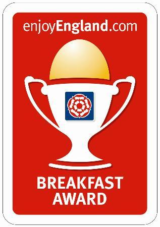 Sandon Guest House: Breakfast Award