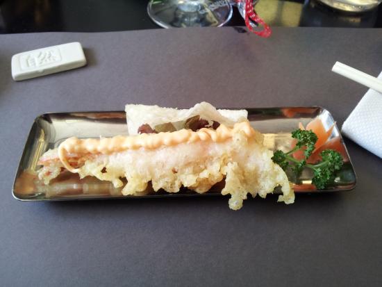 shizen japanese & oriental cuisine: tempura di gambero