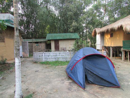 Nature Hunt Eco Camp, Kaziranga National Park: real camp