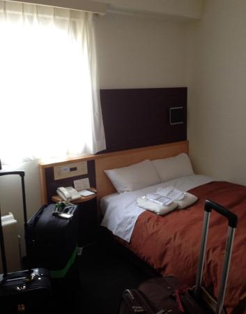 Ueno First City Hotel: Small double bedroom