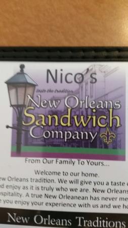 Nico's New Orleans Restaurant