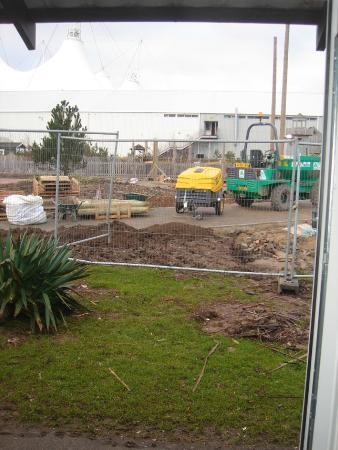 Butlins Skegness Resort View From Bedroom Generator And Builders Really Loud