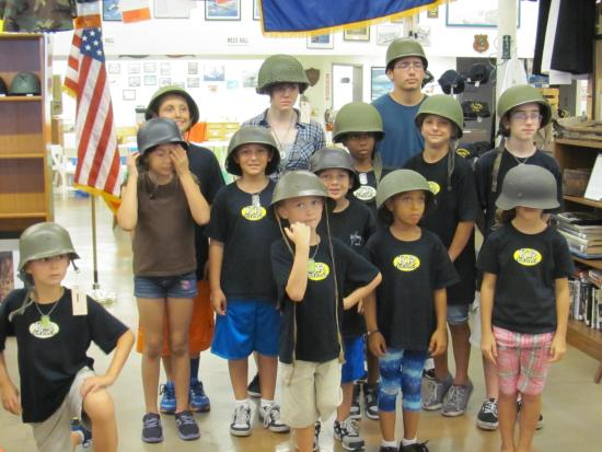 Southwest Florida Military Museum & Library: we love for kids to visit