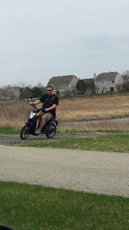 Ridge Motor Inn : Dad is a litter bigger, but still goes 20mph on his!