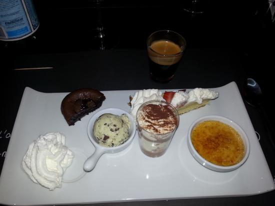 Pitcholina : café gourmand