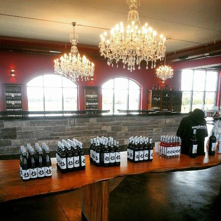 Nice Selection - Picture of Megalomaniac Winery, Vineland ...